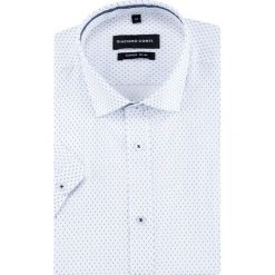 Koszula MICHELE KKWE000020. Brązowe koszule męskie slim marki QUECHUA, m, z elastanu, z krótkim rękawem. Za 169,00 zł.
