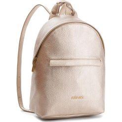 Plecak LIU JO - Backpack Barona A68139 E0059 Gold 00529. Żółte plecaki damskie Liu Jo, ze skóry ekologicznej, eleganckie. Za 599,00 zł.