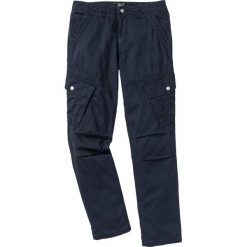 Bojówki męskie: Spodnie bojówki Regular Fit bonprix ciemnoniebieski