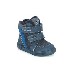 Śniegowce Dziecko Primigi  RIDE 19 GORE-TEX. Niebieskie buty zimowe chłopięce marki Primigi, z gore-texu. Za 289,00 zł.