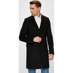 Tommy Hilfiger Tailored - Płaszcz. Szare płaszcze na zamek męskie Tommy Hilfiger Tailored, z acetatu, klasyczne. Za 1249,00 zł.