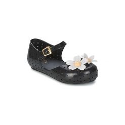 Baleriny Dziecko Melissa  MINI ISABELA CAPETO FLOWERS. Czarne baleriny dziewczęce Melissa. Za 167,30 zł.