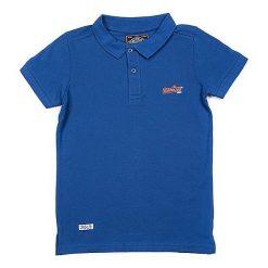 T-shirty chłopięce z krótkim rękawem: Koszulka polo w kolorze niebieskim