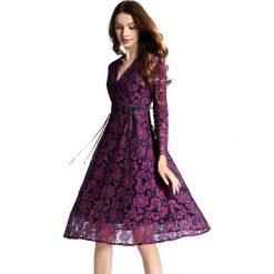 Sukienki balowe: Sukienka w kolorze fioletowo-czarnym