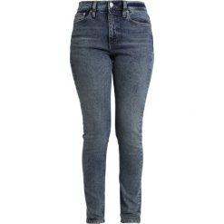 Calvin Klein Jeans CKJ 020 HIGH RISE SKINNY Jeansy Slim Fit aptos blue. Niebieskie jeansy damskie relaxed fit Calvin Klein Jeans, z bawełny. Za 549,00 zł.