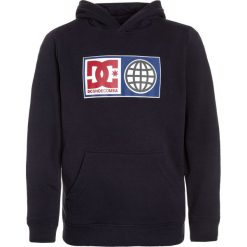 DC Shoes GLOBAL SALUTE BOY Bluza z kapturem dark indigo. Niebieskie bluzy chłopięce rozpinane DC Shoes, z bawełny, z kapturem. Za 259,00 zł.