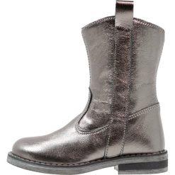 Friboo Kozaki dark grey. Czerwone buty zimowe damskie marki Friboo, z materiału. W wyprzedaży za 137,40 zł.