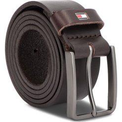 Pasek Męski TOMMY HILFIGER - Smooth Leather Belt AM0AM04163 85 261. Brązowe paski męskie TOMMY HILFIGER, w paski, ze skóry. Za 179,00 zł.