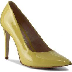 Szpilki: Szpilki BALDACCINI – 652300-I Żółty Lakier