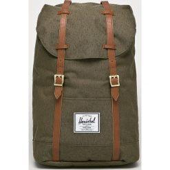 Herschel - Plecak. Brązowe plecaki męskie Herschel, z materiału. Za 399,90 zł.