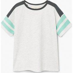 Odzież dziecięca: Mango Kids – T-shirt dziecięcy School 110-164 cm