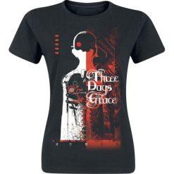 T-shirty damskie: Three Days Grace Human Koszulka damska czarny