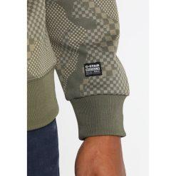 GStar RODIS CAMO RAGLAN R SWEAT L/S Bluza dark shamrock/shamrock. Zielone bluzy męskie marki G-Star, l, z bawełny. Za 369,00 zł.