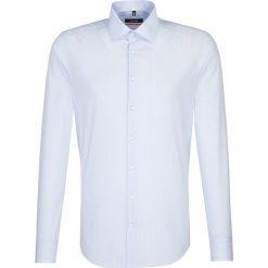 Koszule męskie na spinki: Koszula – Slim fit – w kolorze błękitno-białym