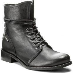 Botki LASOCKI - 60724-02 Czarny. Czarne buty zimowe damskie Lasocki, ze skóry, na obcasie. Za 249,99 zł.