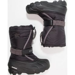 Buty zimowe damskie: Sorel FLURRY Śniegowce black/city grey
