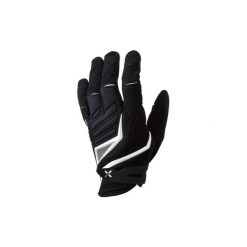 Rękawiczki na rower MTB 700 długie. Czarne rękawiczki damskie B'TWIN. Za 79,99 zł.