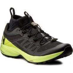 Buty SALOMON - Xa Enduro 392407 27 G0 Black/Lime Green/Black. Szare buty do biegania męskie marki Salomon, z gore-texu, na sznurówki, gore-tex. W wyprzedaży za 409,00 zł.