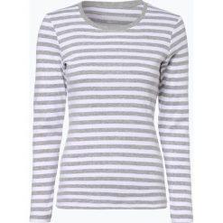 Brookshire - Damska koszulka z długim rękawem, szary. Szare t-shirty damskie brookshire, s, w paski, z dżerseju. Za 89,95 zł.