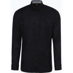 OLYMP No. Six - Koszula męska łatwa w prasowaniu, czarny. Niebieskie koszule męskie non-iron marki OLYMP No. Six, m, w kolorowe wzory. Za 249,95 zł.