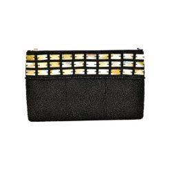 Puzderka: Kopertówka w kolorze czarnym – (D)25 x (S)15 cm