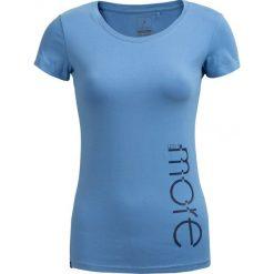 T-shirt damski TSD601 - jasny niebieski - Outhorn. Niebieskie t-shirty damskie Outhorn, z bawełny. W wyprzedaży za 24,99 zł.