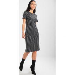 Sukienki hiszpanki: Banana Republic SQUARE NECK SLOAN DRESS STRIPE Sukienka etui black/white