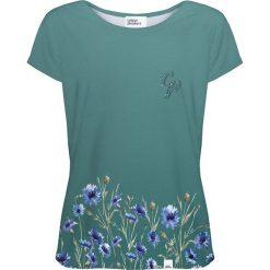 Colour Pleasure Koszulka damska CP-034 251 zielona r. M/L. Zielone bluzki damskie Colour pleasure, l. Za 70,35 zł.