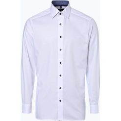 Koszule męskie na spinki: OLYMP Luxor modern Fit - Koszula męska niewymagająca prasowania, czarny