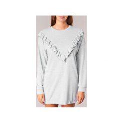Sukienki krótkie Yurban  HOLALA. Szare sukienki hiszpanki Yurban, l, z krótkim rękawem, mini. Za 103,20 zł.