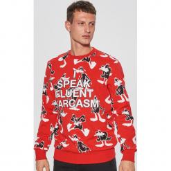 Bluza looney tunes - Czerwony. Czerwone bluzy męskie marki KALENJI, m, z elastanu, z długim rękawem, długie. Za 99,99 zł.