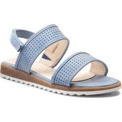 Sandały dziewczęce: Sandały NELLI BLU – CM170427-6 Jeansowy