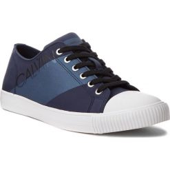 Trampki CALVIN KLEIN JEANS - Antonio SE8590 Navy/Metal Blue. Niebieskie tenisówki męskie Calvin Klein Jeans, z gumy. Za 519,00 zł.