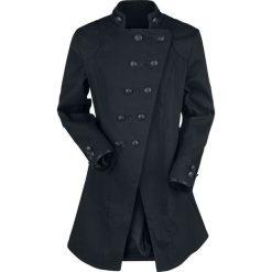 Płaszcze męskie: Jawbreaker Gothic Mantel Płaszcz czarny