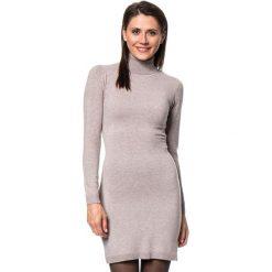 Sukienki dzianinowe: Sukienka w kolorze szarobrązowym