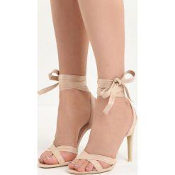 Beżowe Sandały Raspberry. Brązowe sandały damskie marki NEWFEEL, z gumy. Za 69,99 zł.