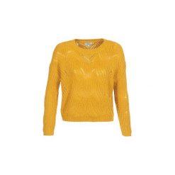 Swetry Only  ONLHAVANA. Żółte swetry klasyczne damskie ONLY, l. Za 129,00 zł.