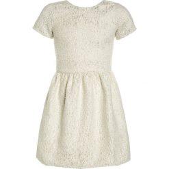 Sukienki dziewczęce z falbanami: Carrement Beau Sukienka koktajlowa offwhite