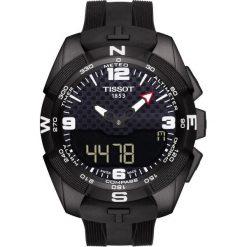 PROMOCJA ZEGAREK TISSOT T-TOUCH EXPERT SOLAR T091.420.47.057.01. Czarne zegarki męskie marki TISSOT. W wyprzedaży za 3696,00 zł.