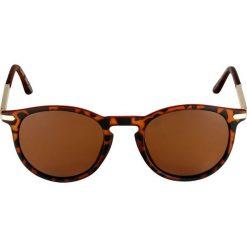Okulary przeciwsłoneczne damskie aviatory: Pilgrim SUNGLASSES MACON Okulary przeciwsłoneczne brown
