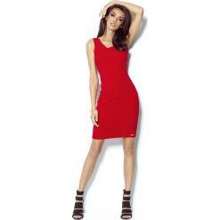 Czerwona Sukienka Ołówkowa z Dekoltem na Plecach. Czarne sukienki balowe marki Mohito, l, z dekoltem na plecach. Za 139,90 zł.