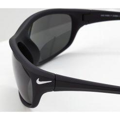 Nike Vision RABID Okulary przeciwsłoneczne matte black/grey polarized. Czarne okulary przeciwsłoneczne męskie aviatory Nike Vision. Za 579,00 zł.
