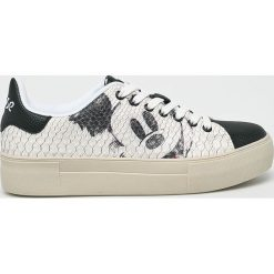 Desigual - Buty. Szare buty sportowe damskie Desigual, z materiału. W wyprzedaży za 399,90 zł.