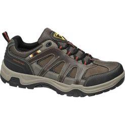 Trekkingowe buty męskie Highland Creek brązowe. Brązowe buty trekkingowe damskie Highland Creek, z materiału, na sznurówki. Za 83,00 zł.