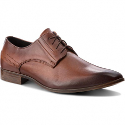 Półbuty SERGIO BARDI - Bedero FW127366618IG 104. Brązowe buty wizytowe męskie Sergio Bardi, z materiału. W wyprzedaży za 179,00 zł.