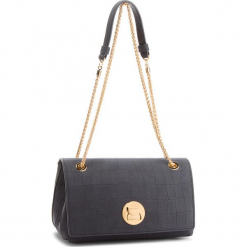 Torebka COCCINELLE - CD2 Liya Mat Croco E1 CD2 12 03 01  Noir 001. Czarne torebki klasyczne damskie Coccinelle, z nubiku. Za 1799,90 zł.