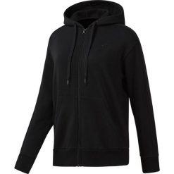 Bluza Reebok GP FZ Hoodie (DH1279). Czarne bluzy rozpinane damskie Reebok, z bawełny. Za 279,99 zł.