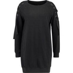 Bluzy damskie: Herrlicher VIOLETA  Bluza black