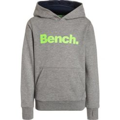 Bench CORE HOODY  Bluza z kapturem grey marl. Szare bluzy chłopięce rozpinane marki Bench, z bawełny, z kapturem. W wyprzedaży za 152,10 zł.