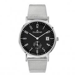 """Zegarek """"4460782"""" w kolorze srebrno-czarnym. Czarne, analogowe zegarki męskie Dugena & Nautec No Limit, ze stali. W wyprzedaży za 439,95 zł."""